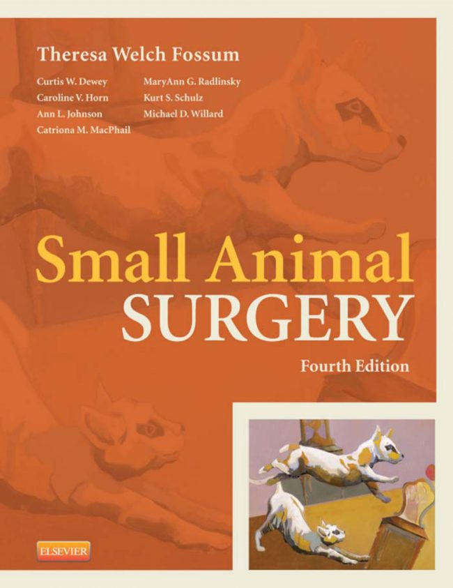 Small Animal Surgery 4th Edition by Theresa Welch Fossum pdf