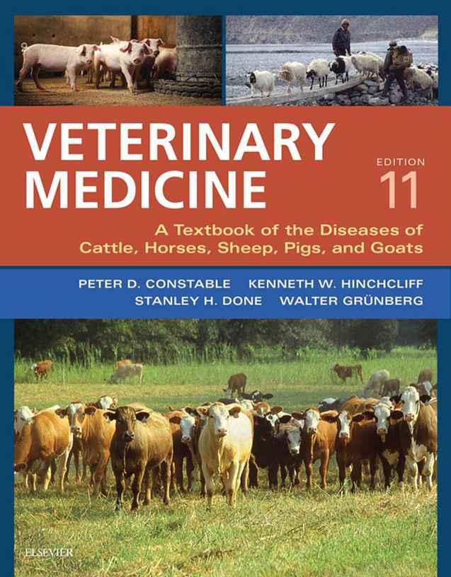 Veterinary Medicin 11th Edition PDF Download Page 0001