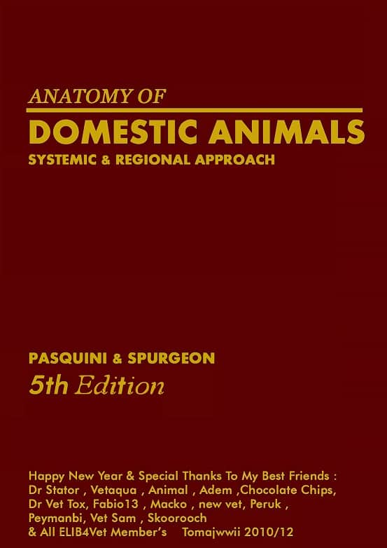 Anatomy of Domestic Animals Systemic Regional Approach PDF