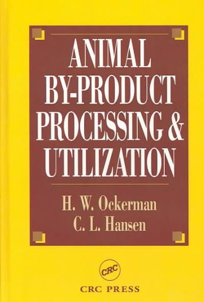 Animal By-Product Processing & Utilization Free PDF Download