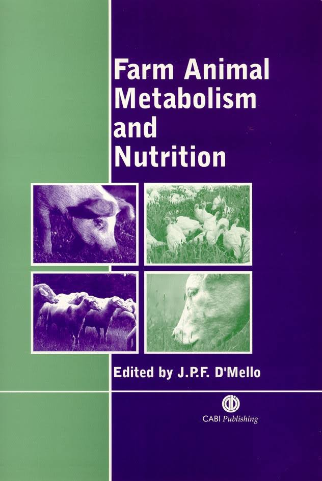 Farm Animal Metabolism And Nutrition PDF
