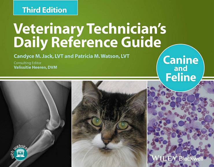 Veterinary Technician's Daily Reference Guide Canine And Feline 3rd Edition PDF