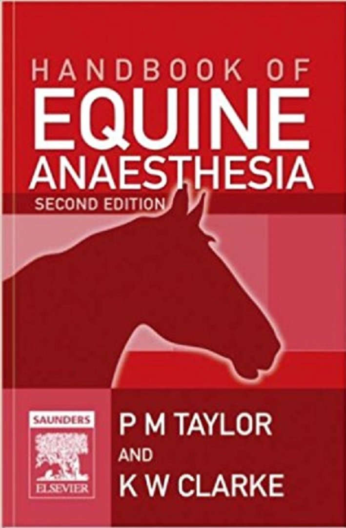 Handbook Of Equine Anaesthesia 2nd Edition PDF Download