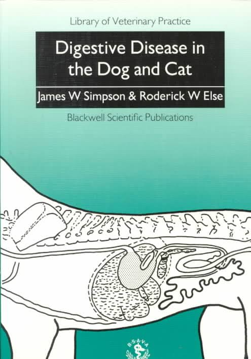 Digestive Disease In The Dog And Cat PDF