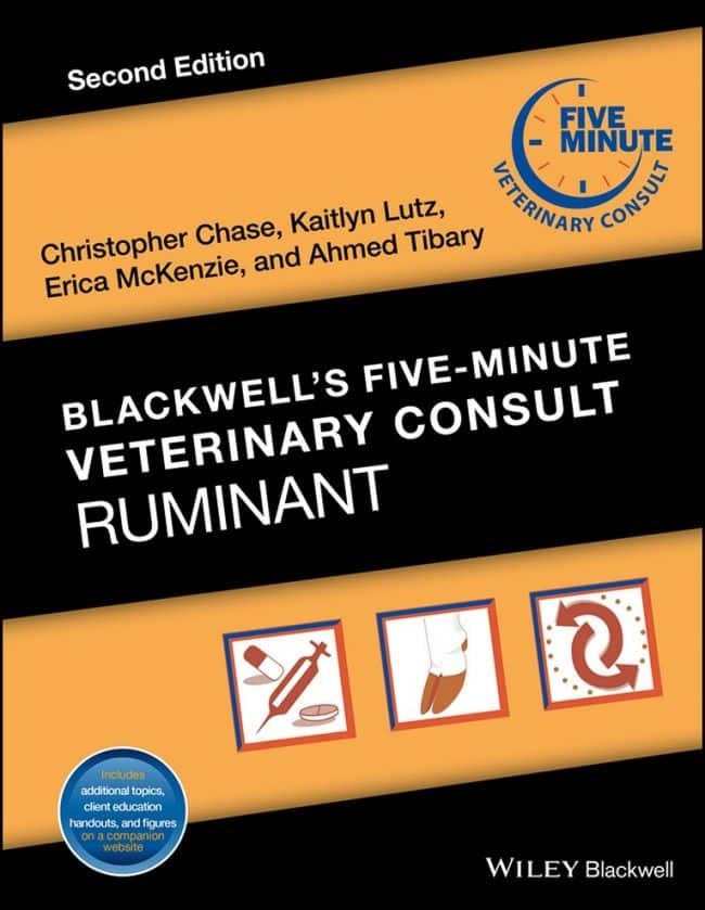 Blackwells Five Minute Veterinary Consult Ruminant 2nd Edition PDF