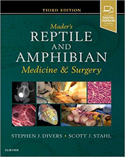 Mader's Reptile And Amphibian Medicine And Surgery 3rd Edition