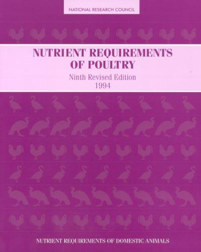 Nutrient Requirements Of Poultry 9th Revised Edition