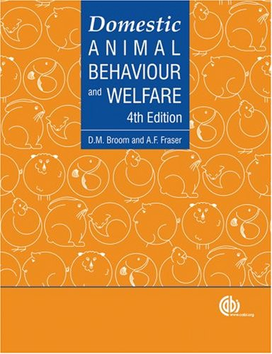 Domestic Animal Behaviour And Welfare 4th Edition