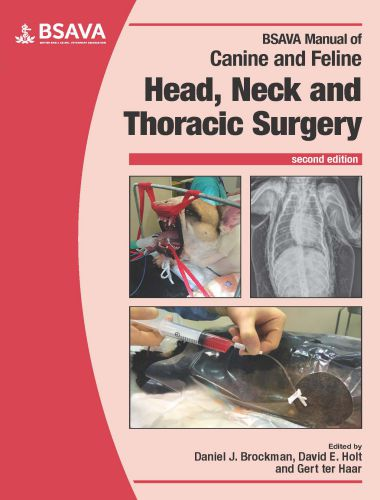 Manual Of Canine And Feline Head, Neck And Thoracic Surgery, 2nd Edition