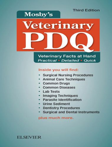 Mosby's Veterinary PDQ 3rd Edition
