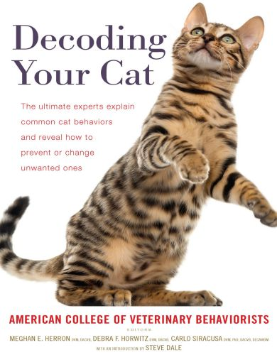 Decoding Your Cat American College Of Veterinary Behaviorists
